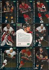 2001-02 Parkhurst by ITG Ottawa Senators Regular Team Set (15)