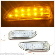New Yellow 13-LED Car Side Door View Mirrors Turning Signal Light For Land Rover