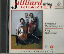 CD Beethoven, Berg, Juilliard String Quartet – Quartetto Op. 135 / Suite Lirica