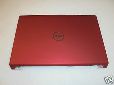 NEW OEM Dell Studio 1557 1558 15.6'' RED LCD Back Cover w/Power Button N/O T210N
