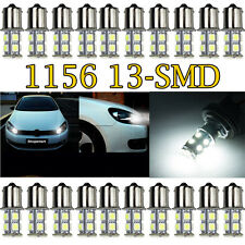 20 PCS White 1156 13 SMD LED RV Camper Trailer 1141 Interior Light Bulbs 12V