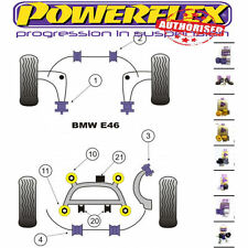POWERFLEX BMW E46 Xi 3 SERIES SUSPENSION BUSH KIT (with rear diff)