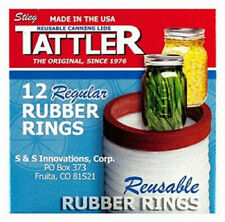 S&S 12 Piece, Regular Mouth Jar Rubber Canning Ring 1011