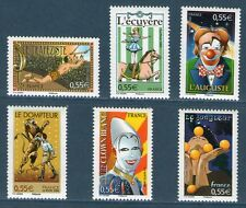 SERIE DE TIMBRES 4216-4221 NEUF XX LUXE - PERSONNAGES  DU CIRQUE
