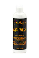 SheaMoisture African Black Soap Body Lotion 13 fl oz / 369ml New