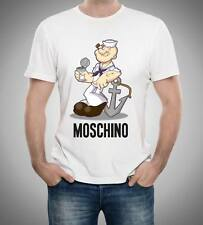 White Men T-shirt Moschino Popeye