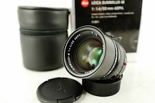 Leica Summilux 50mm F/1.4 Aspherical  6-Bit Lens for Leica M Mint 11891