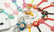 Cartoon Earphone Winder Cable Cord Organizer Holder Phone Cable Holder