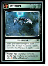 STAR TREK CCG FIRST CONTACT RARE CARD TEMPORAL WAKE