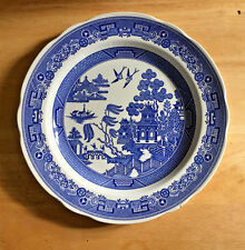 Spode Blue Room Collection Willow Dinner Plate England Blue White
