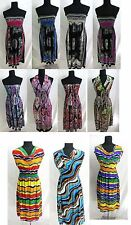 US SELLER-lot of 6 sundresses beach dress wholesale bulk women summer clothing