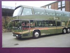 PHOTO  HARRODS NEOPLAN COACH A123 RTL SIDE VIEW