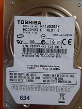 160gb Toshiba mk1652gsx hdd2h03 C wl01 S   lv010a #634