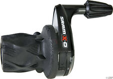 SRAM X.0 3x9 speed Front Twist Grip Shift Shifter Left XO X0