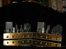 Pair of Eico HF-52 HF52 Rare Mono Integrated Amplifiers use EL34 Output Tubes