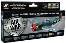 Vallejo VLJ-71182 US Army Air Corps European Theater WWII Model Air Paint Set