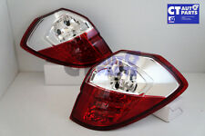 Clear Red LED Tail light for 03-09 SUBARU Legacy Liberty OutBack