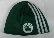 Boston Celtics Knit Beanie Toque Skull Cap Winter Hat NBA NEW ADIDAS - 3 stripes