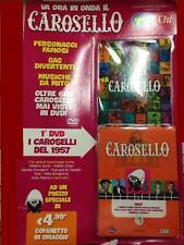DVD CAROSELLO 1957 - Uscita Numero 1 NUOVO Da Edicola - Con Raccoglitore