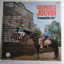 33T Georges JOUVIN Disque LP TROMPETTE D'OR Saloon Ranch Cheval VOIX MAITRE 317
