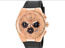 New Men's TechnoMarine Chronograph Cruise Collection Rose Gold Watch