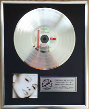 "Mariah Carey-music box CD/COVER incorniciato + 12"" DECORAZIONI D'ORO vinile disco"