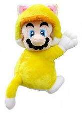 Super Mario Cat Version with Magnetic Hands Plush 19 cm. MULTIPLAYER