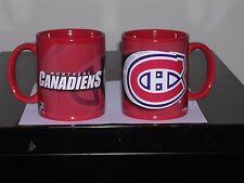 NEW MONTREAL CANADIENS  NHL COFFEE MUG 11 OZ.