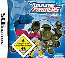 NINTENDO DS 3DS TRANSFORMERS ANIMATED THE GAME ***  NEU