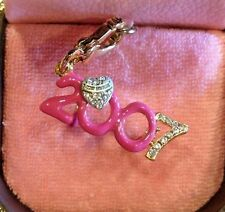 NWT 2007 JUICY COUTURE GLASSES CHARM (RARE) YJRU0962
