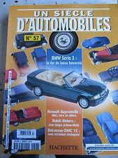 FASCICULE UN SIECLE D'AUTOMOBILES  57 BMW SERIE 3 LOTUS SEVEN DE LOREAN GORDINI