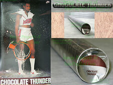 FACTORY SEALED!!!! Vintage Original DARRYL DAWKINS CHOCOLATE THUNDER Nike Poster