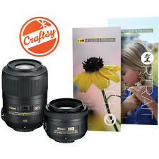 Nikon Macro and Portrait 2 Lens Kit for Nikon Digital SLR Cameras 85mm And 35mm(