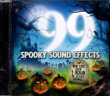 99 SPOOKY SOUND EFFECTS OVER 1 HOUR OF HALLOWEEN HAUNTED HOUSE SOUNDS & MUSIC CD