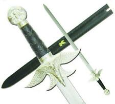 Sir Lohengrin Knight of the Holy Grail Sword with Leather Sheath