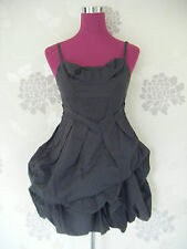 Stunning  All Saints Pirro  Dress  Charcoal Size 10 Excellent Condition