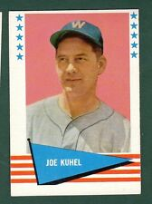 1961 Fleer BB #119 Joe Kuhel EX/MT