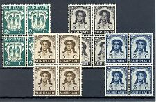 SURINAME # 183/86 ( 4x)   KW € 72  **  PF      LUXE-
