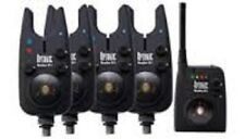 NEW DAIWA SUNDRIDGE WIRELESS G1 RADIO OPTONIC BITE ALARMS SET OF 4!