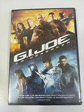 G.I. JOE LA VENGANZA DVD THE ROCK BRUCE WILLIS EXTRAS ESPAÑOL ENGLISH NEW NUEVA