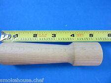 Small Wooden Stomper Pusher for Kitchenaid FGA FGA2 meat grinder food chopper