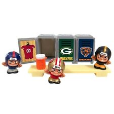 NFL Teenymates Locker Room set with Denver Broncos LM in the window.