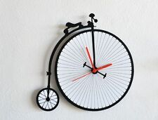 Penny Farthing Antique Bicycle - Wall Clock