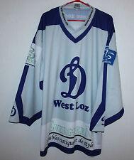 Dinamo West Loz swiss ice hockey match worn jersey #14 Size XL