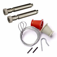 HENDERSON FULL REPAIR KIT Cables & Rollers (Nuts & Bolts) garage door spares