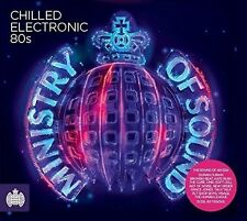 Ministry of Sound - Chilled Electronic 80s 3 CD ALBUM NEW (27TH MAY)