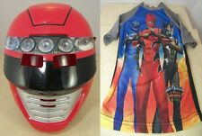 POWER RANGERS Jungle Fury Shirt & Mask Halloween Costume Disney Store Size 7-8