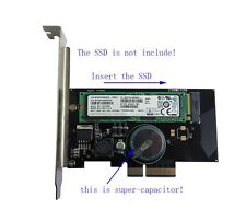 Adapter Card to PCI-E x4 Power-off protection for M.2 NGFF PM950 PRO SSD