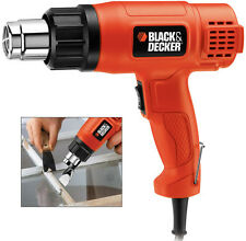 Black & Decker Heatgun KX1650 1750w Heat Hot Air Gun for Stripping Paint Varnish