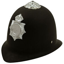 CHILDRENS KIDS POLICE POLICEMAN HELMET HARD HAT BOYS GIRLS FANCY DRESS H02 275